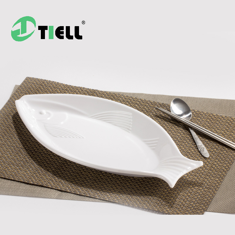 Online buy wholesale melamine fish plates from china for Fish shaped plates
