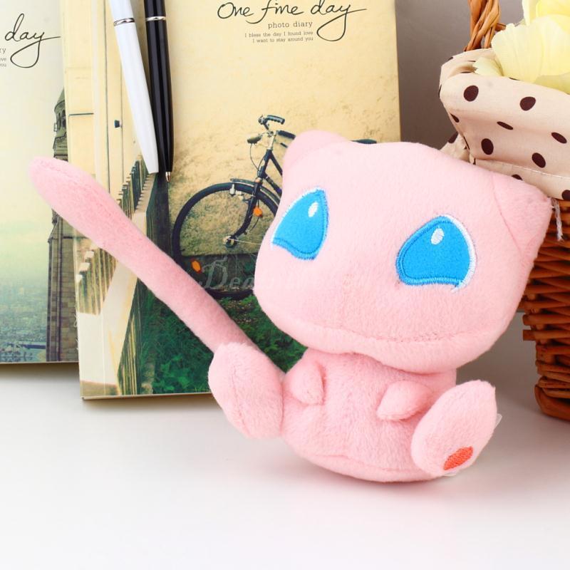 1pcs pink Cute Pokemon Rare Mew polyester Plush Soft Doll Toy Gift Hot Selling(China (Mainland))
