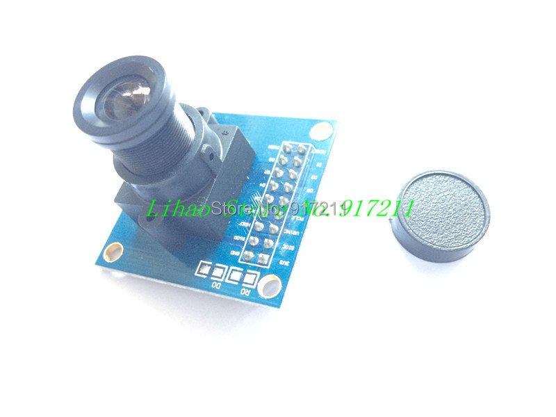 Free shipping !!! ov7670 camera module Supports VGA CIF auto exposure control display active size 640X480 for arduino(China (Mainland))