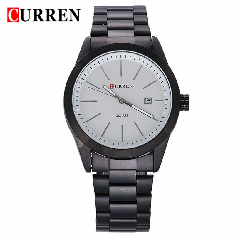 Relojes Hombre 2016 CURREN Brand Men Classic Business Watches Military Waterproof Stainless Steel Quartz Watch Relogio Masculino(China (Mainland))
