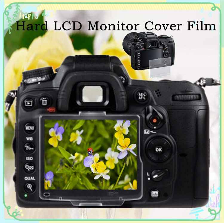Hard LCD Monitor Cover Screen Protector Film For Nikon D300 D300S AS BM-8 Free Shipping Russia Brazil With Tracking NO.30pcs(China (Mainland))