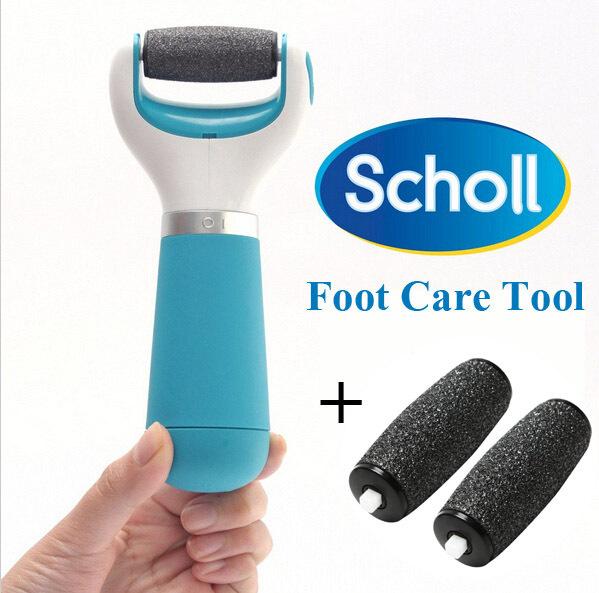 Инструменты по уходу за ногами Velvet soft Scholl Pedi + 2 headsScholl насадка для прибора по уходу за ногами scholl velvet smooth diamonds экстражесткие 2шт