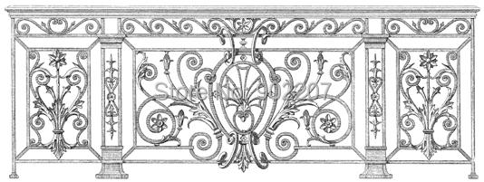 home decor wrought iron railing iron handrail steel railing  iron balustrade<br><br>Aliexpress