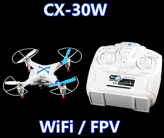 Original Cheerson CX-30W CX30W WiFi RC Quadcopter with remote control with 6-Axis Gyro / Camera RTF 2.4Ghz<br><br>Aliexpress