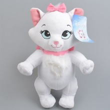 Buy 28 cm Aristocats cat plush toys Marie cat Animals Stuffed plush dolls Soft toys baby gift Free for $15.99 in AliExpress store
