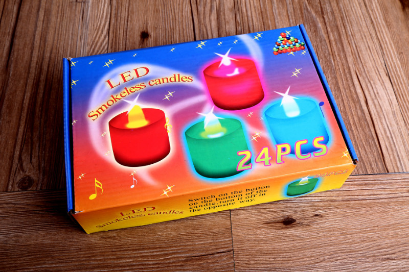 2015 new fashion hot sell LED electronic operating twinkle twinkle flameless smokeless candle lights(China (Mainland))