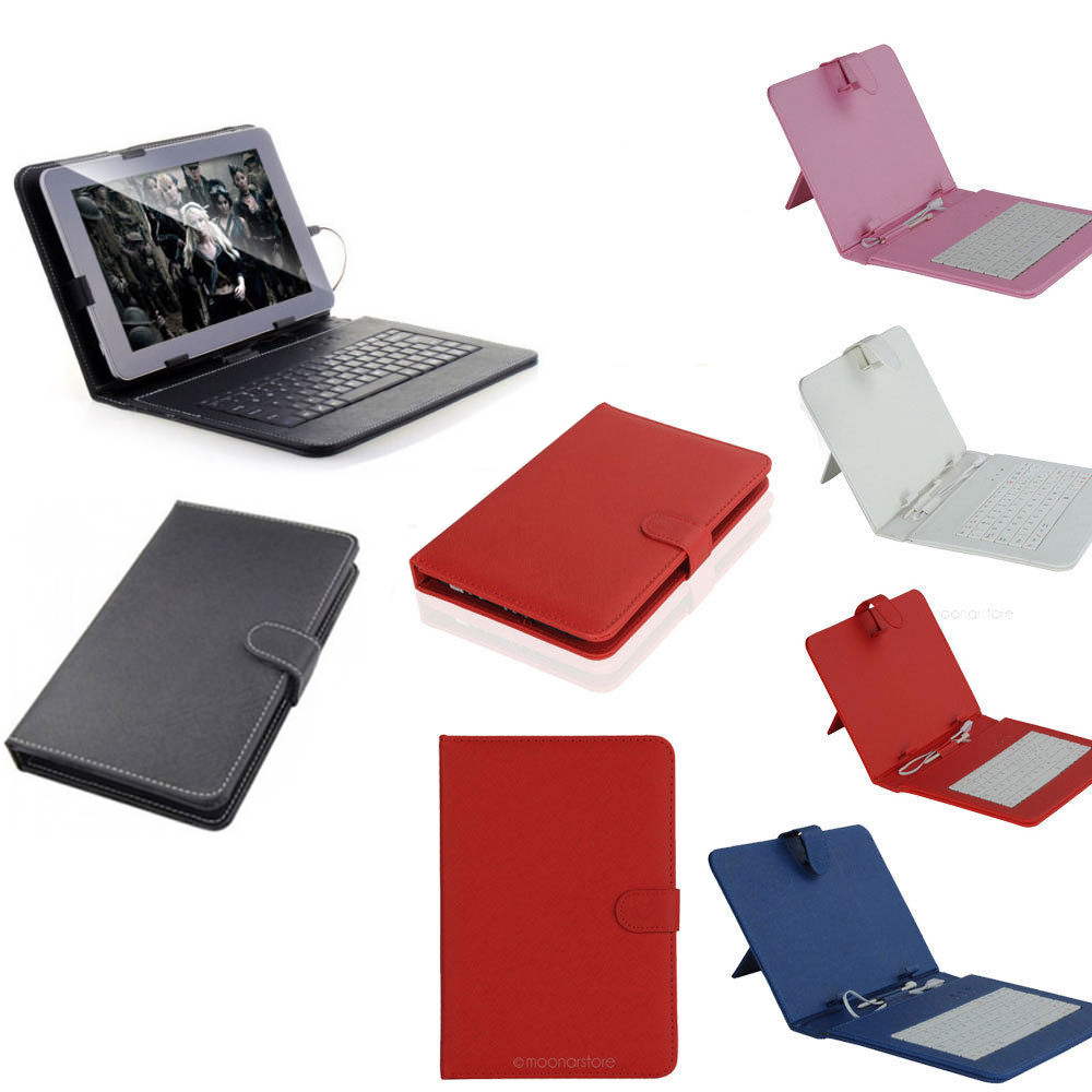 USB Keyboard Faux Leather Case With Stylus Pen For 7 inch Tablet PC For Galaxy Tab 2 7 P3100 For Nexus 7 For Kindle Fire HD<br><br>Aliexpress