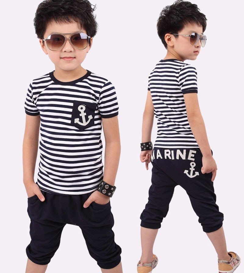 2 12 Year Baby Boy Clothes 2015 Summer Back To School
