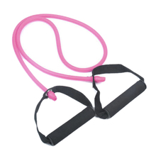 hot sale!2 pcs Resistance bands chest expander Rope spring exerciser -Pink