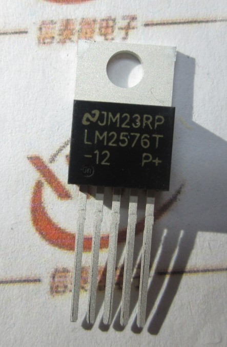 DIP TO-220 LM2576T-12 12V regulator circuit (Buck)(China (Mainland))