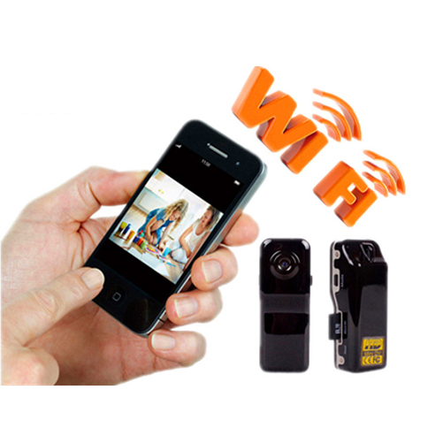 Hot! Wireless Wifi Hidden Spy Security Nanny Camera Camcorder Video Recorder HD DVR Mini Remote WiFi Camera(China (Mainland))