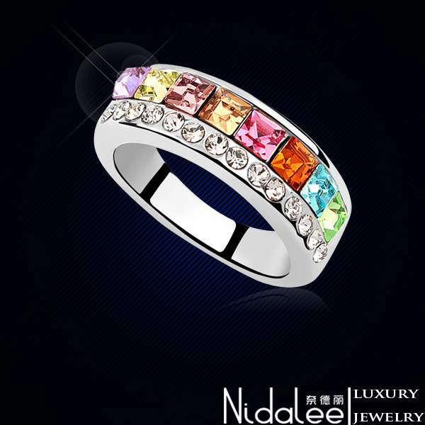 Кольцо Nidalee Jewelry Swarovski 18K CR-076 modules stm32 board core103z stm32f103zet6 stm32f103 stm32 arm cortex m3 stm32 development core board jtag swd debug interface f