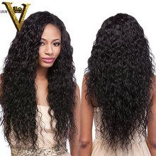 """Glueless piena del merletto dei capelli umani parrucche ondulate del merletto anteriore parrucche lordo vergine onda di acqua brasiliana per le donne nere 8-22 """"in magazzino(China (Mainland))"""