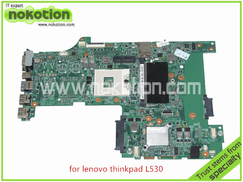 laptop motherboard for lenovo thinkpad L530 04Y2024 P0C55212 HM76 GMA HD4000 DDR3<br><br>Aliexpress