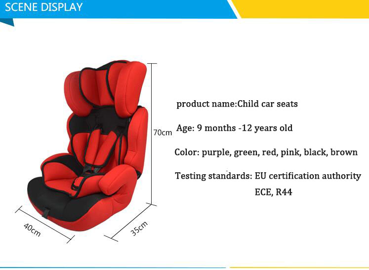 2016 Car Child Safety Seats / ( 9 Months -12 Years Old ) Child Car ...