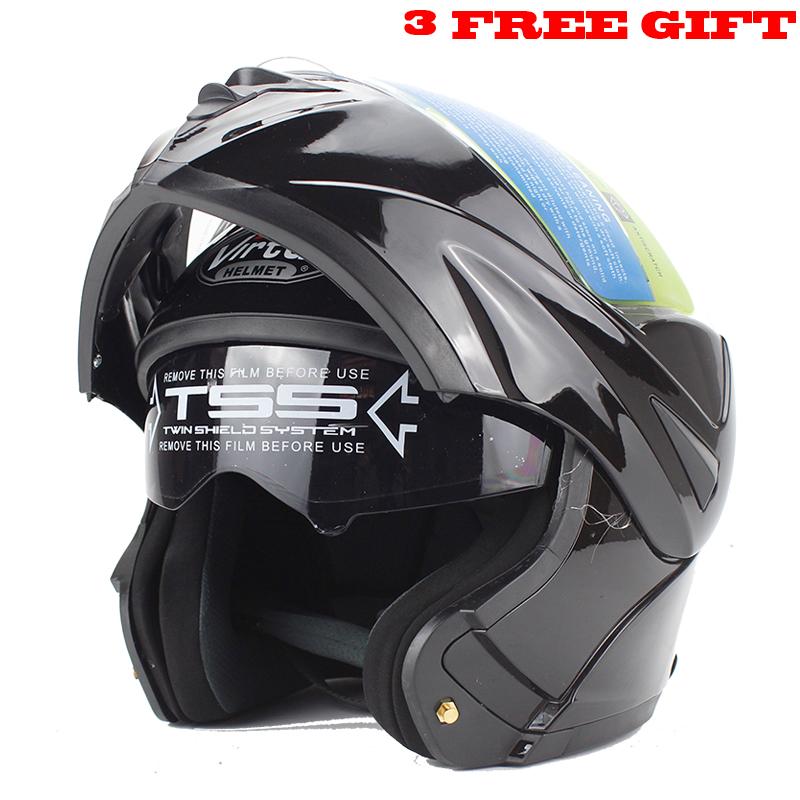 Best Sales Safe full face helmet motorcycle helmet Flip up helmet with inner sun visor everybody affordable Size:S,M, L, XL(China (Mainland))