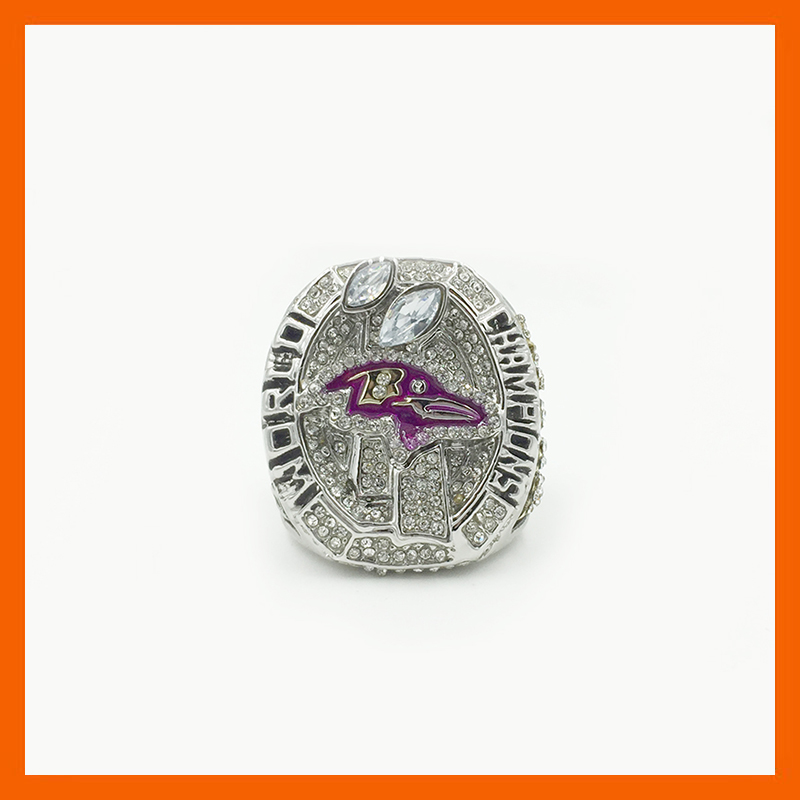 New Design Excellent Quality Masterpiece 2012 Replica Super Bowl Baltimore Ravens Championship Ring for Fans(China (Mainland))