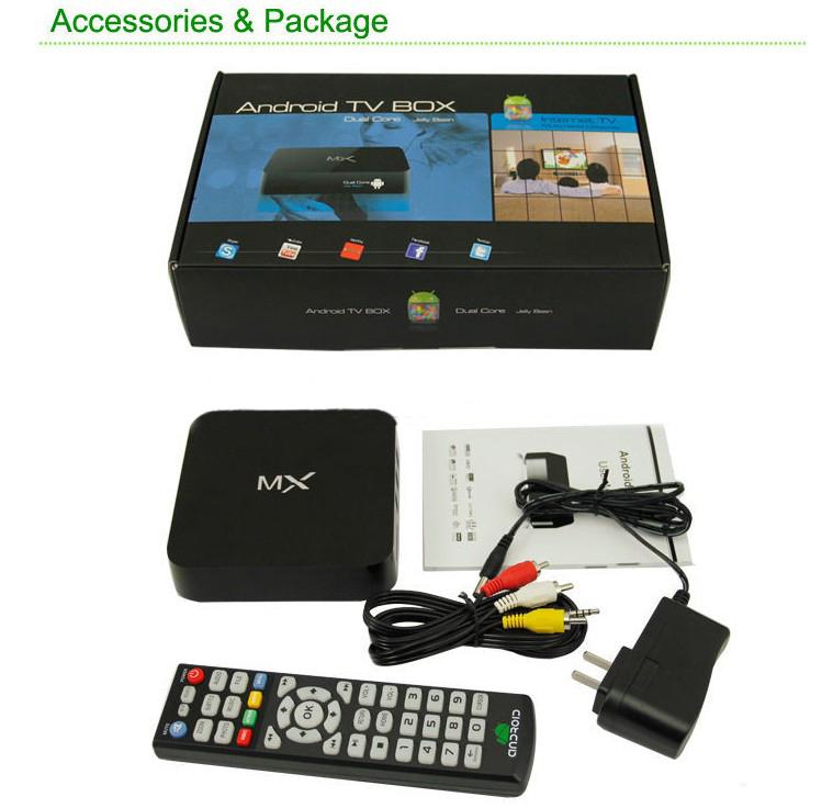 wholesale 10pcs a lot mx2 New 2014 Midnight AMLogic 8726 M6 mx xbmc TV Box XBMC skype youtube android 4.2(China (Mainland))