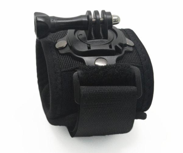 Accessories For SJ4000 360 Degree Wrist Mount Tripod Band Strap And Screw For Gopro Hero 43 SJ5000 Xiaomi Yi Camera