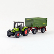 SIKU 1634# 1:87 tractor truck Alloy model car Farm tractor truck alloy car model children's toys kidds cars toys kid gifts(China (Mainland))