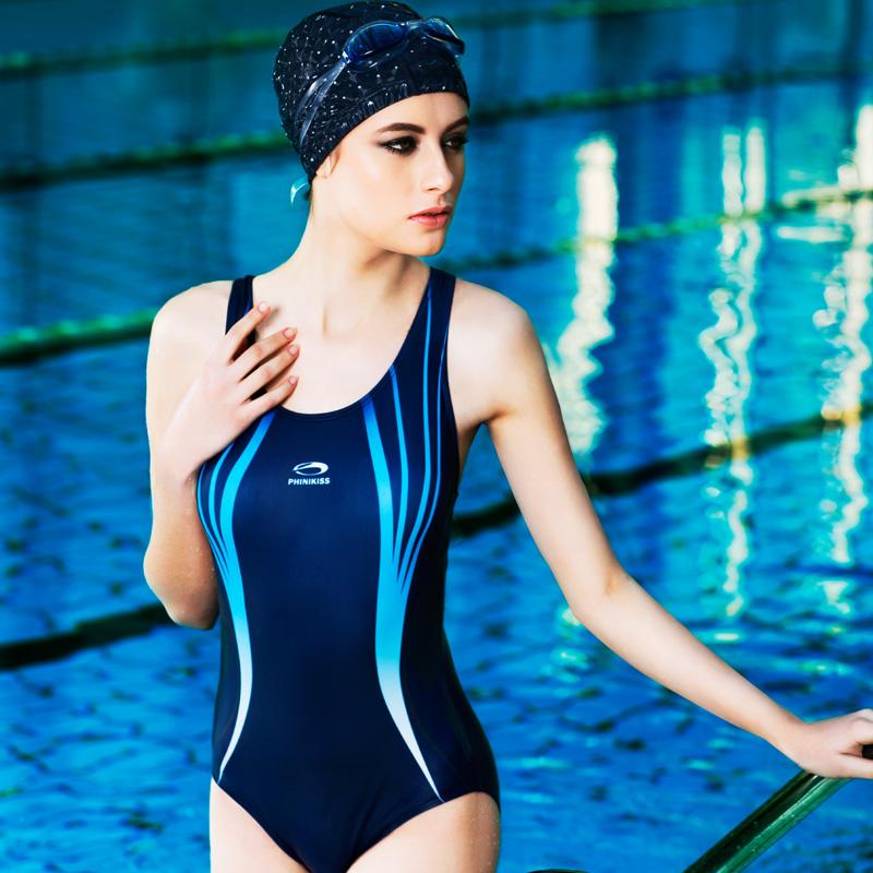 Competition Body Suits Monokini Triangle Swimwear Women Sports Swimsuit Racing Anti-Chlorine Curve Bathing Suit(China (Mainland))