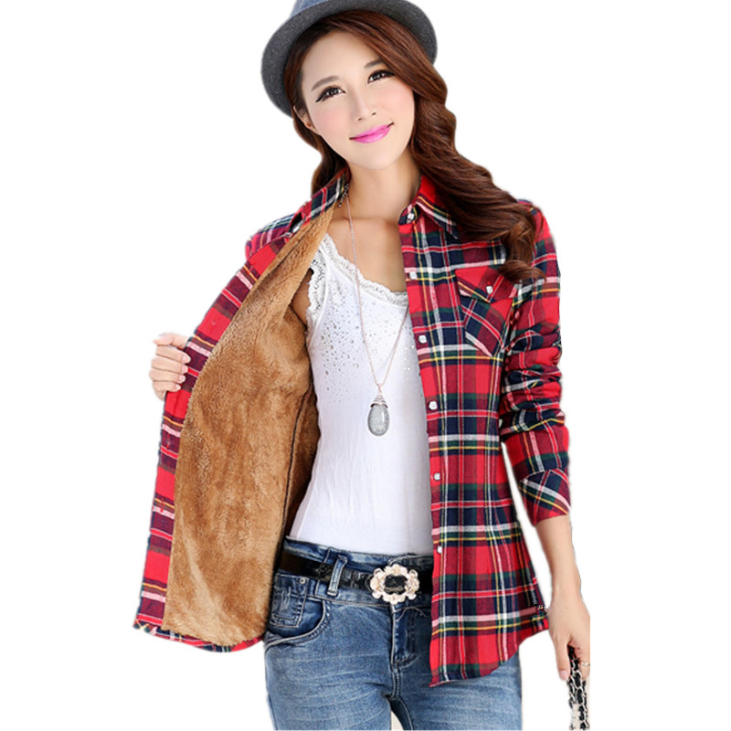 Online buy wholesale velvet blouses from china velvet for Buy plaid shirts online