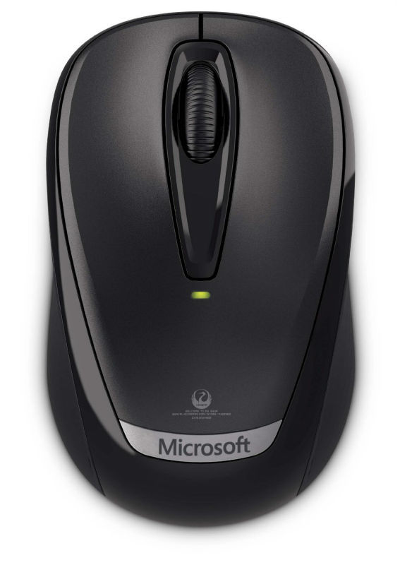 Genuine Original Guaranteed Microsoft Wireless Mobile Mouse 3000v2 2.4Ghz Wireless Mouse For Desktop Laptop Free Shipping(China (Mainland))