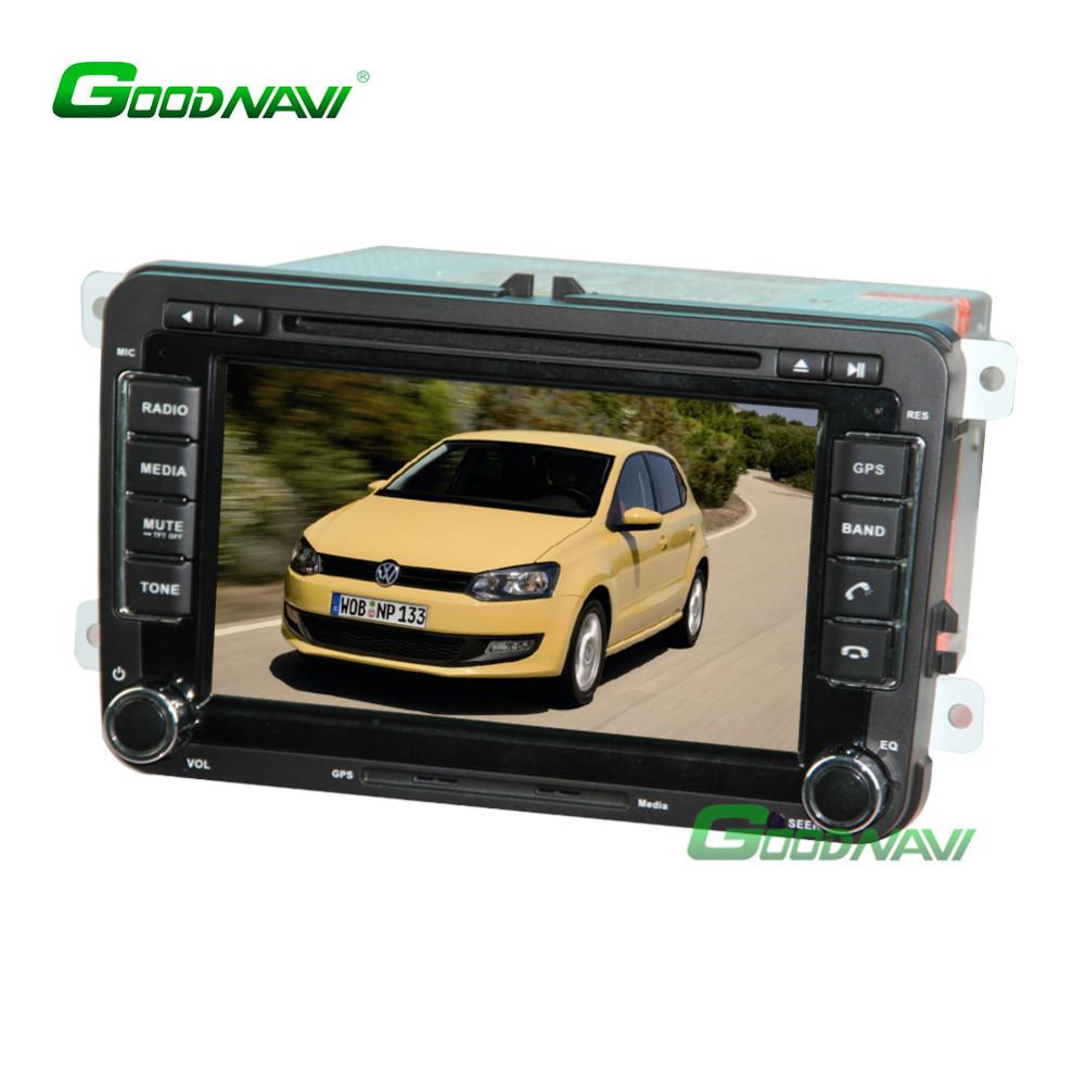 "2 Din 7"" Screen Car Autoradio DVD CAM/DVR-IN GPS Navi Unit with System CE 6.0 For VW GOLF 5 6 PASSAT CC Sharan EOS DH7048(China (Mainland))"