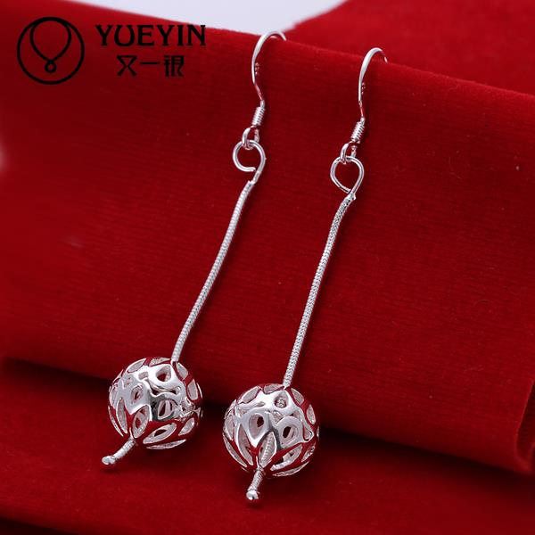 Hot sale fine Jewelry E167 2015 New supplies Silver Plated Women Earrings fashion high quality(China (Mainland))