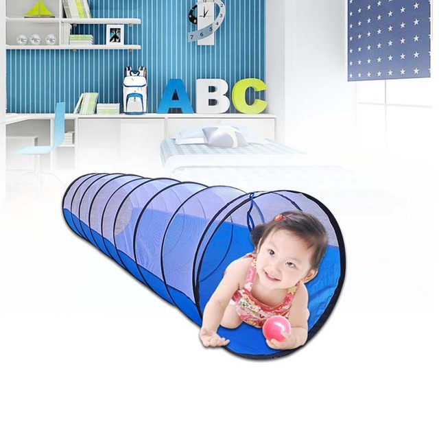Wholesale  300cm play tunnel tents, agility training, games for kids, playground toys, playhouse christmas gifts