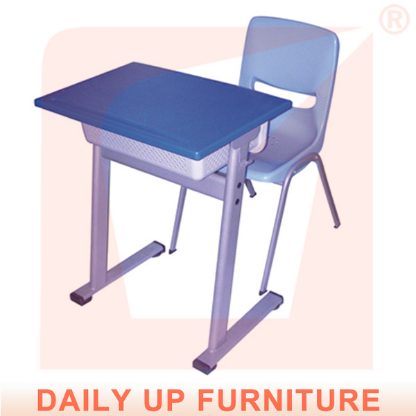 Single student desk and chair fixed student school chair - Student desk and chair set ...