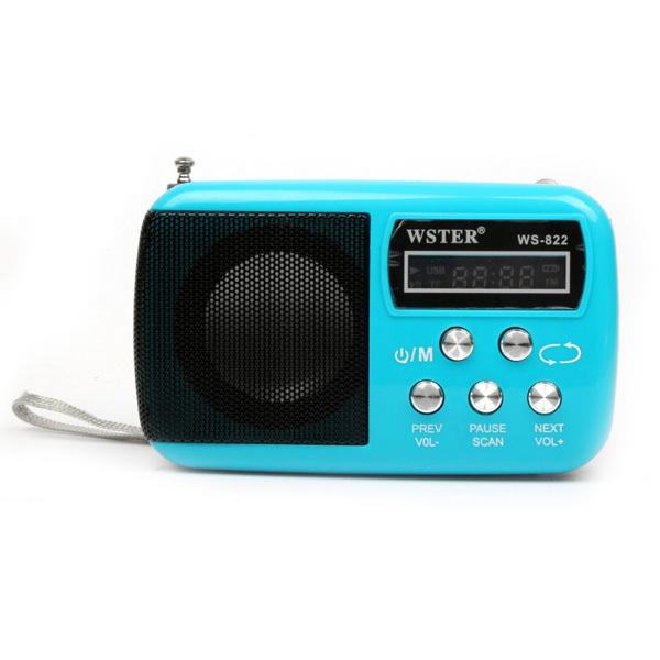 2015 New Fashion Portable Mini FM Radio Speaker The Aged Best Mini Digital FM Radio MP3