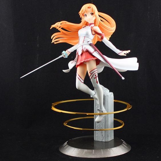Sword Art Online S.A.O Figure Asuna Yuuki 8 inch Anime SAO New Box - TOMORROW TOY Store store