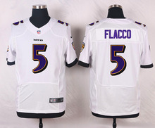 Baltimore Ravens #52 Ray Lewis Elite White Black Alternate and Purple Team Color High quality free shipping(China (Mainland))