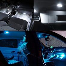 11x Led Light Lamp Dome Interior Bulb Car Interior Lighting Kit For Volkswagen VW GOLF 6 VI GTI MK6 2010 2011 2013 2014 Canbus(China (Mainland))