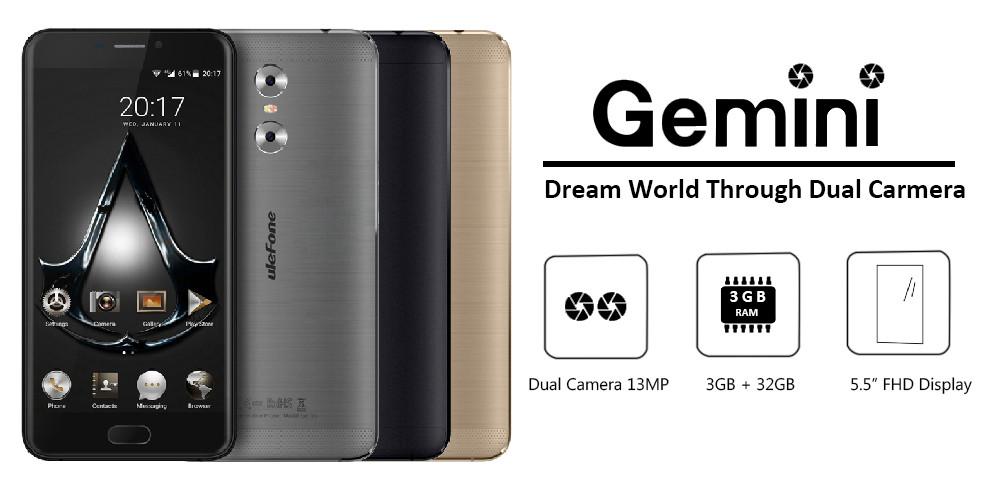 Original Doogee X7 Cell Phone RAM 1GB ROM 16GB MTK6580 Quad Core 6.0 inch 1280×720 HD Android 6.0 Camera 8MP 3700mAh Smartphone