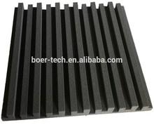 20 шт. 50 * 50 * 5 см черный диффузор акустическая пена панель звукопоглощающие пена губка