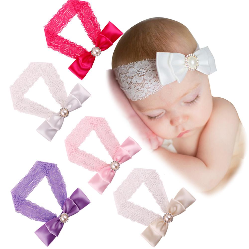 Cute Hair Accessories 2016 Baby Flower Headband Kids Girls Baby Toddler Cute Bowknot Headband Hair Band Headwear(China (Mainland))