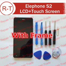 Elephone S2 LCD Screen Original FHD 5.0inch lcd display+touch Screen Panel Replacement For Elephone S2 Cellphone + In Stock
