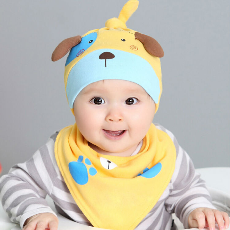 From 3 Months To 3 Years Old New Winter Warm Cotton Baby Hat Girl Boy Toddler Infant Kids Caps Lovely Baby Beanies Accessories(China (Mainland))