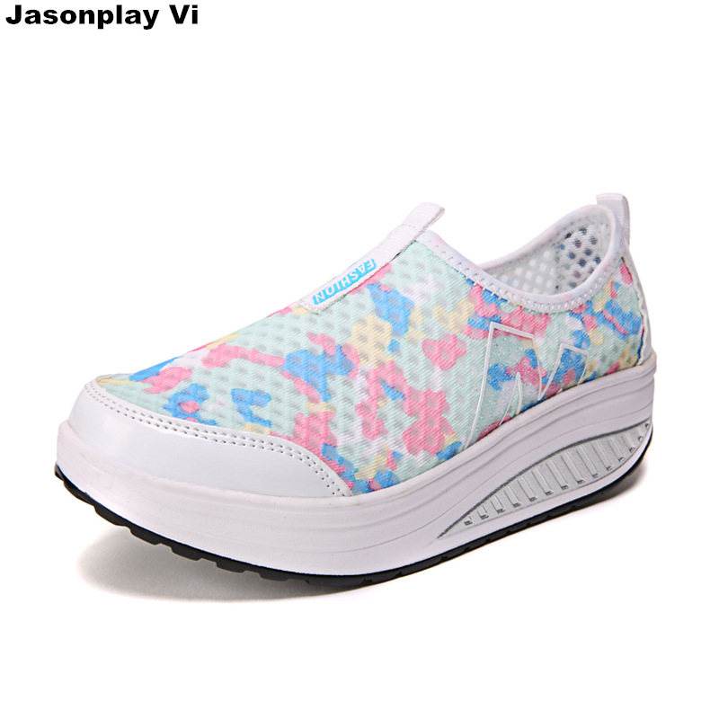 Casual shoes 2016 Spring Summer New brand Fashion net surface breathable Women shoes high quality comfort Sets foot shoes ZZ404(China (Mainland))