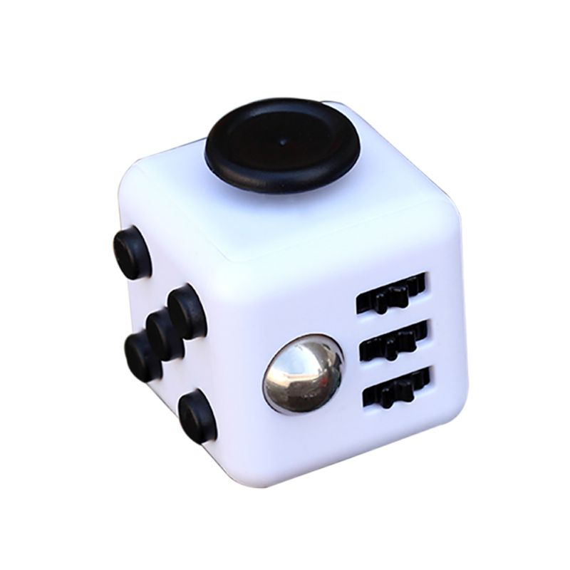 3x3x3 CM 2017 Hot Fidget Cube Fidget Toys Without Anxiety For Gift Brand New Only Box On Sale Match Box