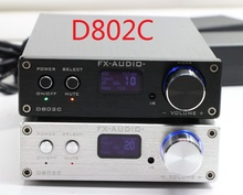 FX-Audio D802C Bluetooth@3.0 Pure Full Digital Audio Amplifier Input USB/RCA/Coaxial/Optical/BT 24Bit/192KHz 80W+80W DC32V/5A