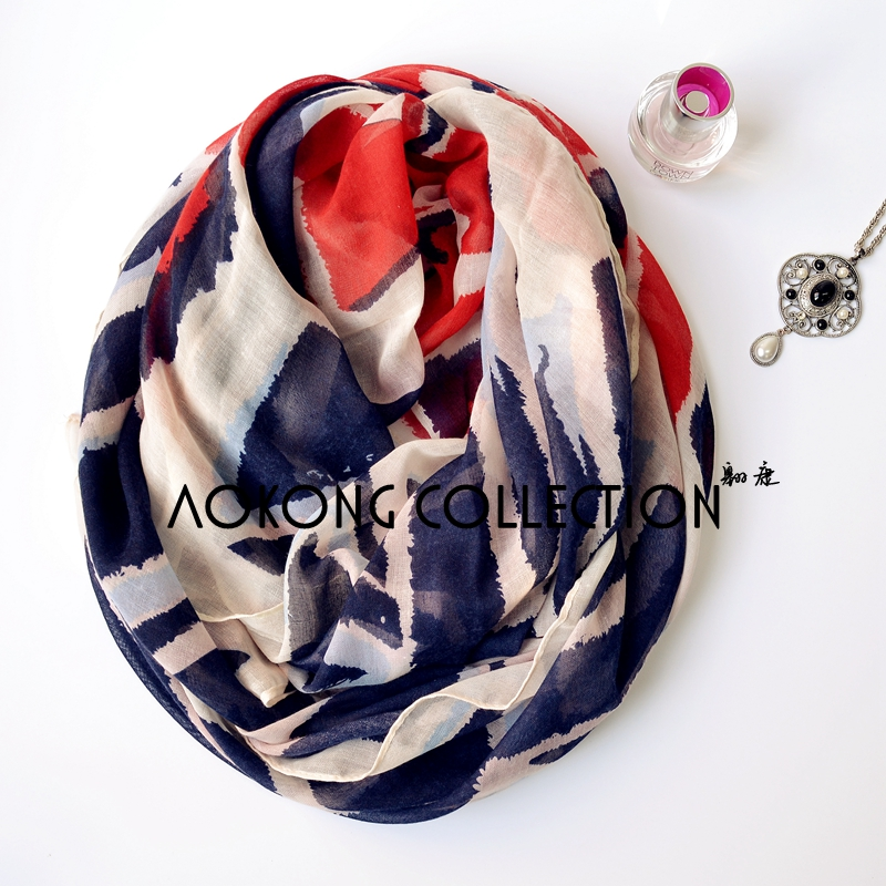 2016 new arrvial fashion hot sell union jack scarf high quality viscose voile women UK flag printed wraps stole(China (Mainland))