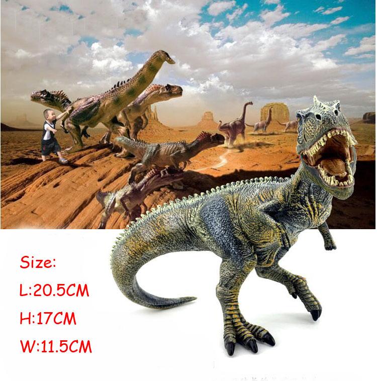 POP Parque Jurássico Spinosaurus Carnívora Giganotosaurus Therizinosaurus REI T-REX Dinossauros Modelo Figuras de Ação Brinquedos Clássico(China (Mainland))