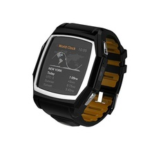Sport Health Smart Watch Phone SW68 WristWatch Waterproof Dustproof with Heart Rate GPS Physical Compass GSM SIM Card Camera