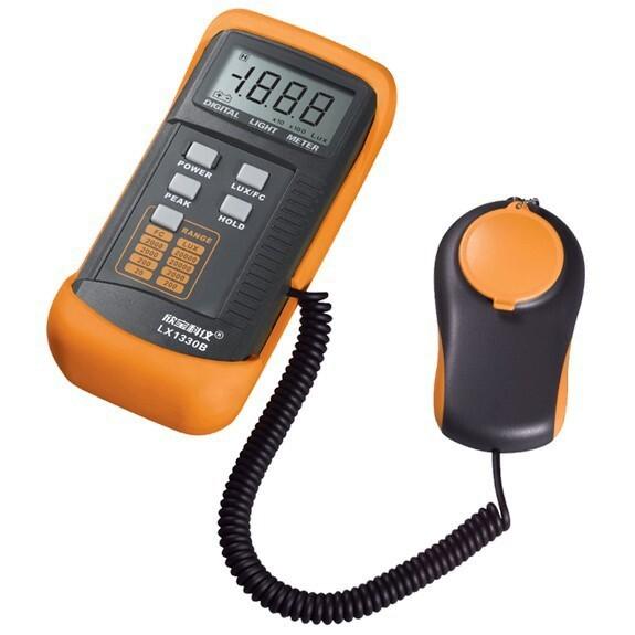 Digtal Illuminance Meter - LX1330B 200,000 200000 Lux Digital Light Meter Luxmeter meters