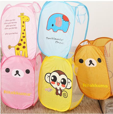 Practial clothing case Laundry Basket Laundry Bag Laundry Hamper Basket For Toys Clothes Portable Clothing Storage Free Shipping(China (Mainland))