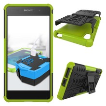 Sony Xperia E5 Case Heavy Duty Armor Kickstand Shockproof Hybird Hard Soft Silicon Rugged Rubber F3311 - Shenzhen Jurno Trading Co.,Ltd store