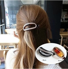 2015Newest Free shipping big ponytail holder hair clips for girls(China (Mainland))